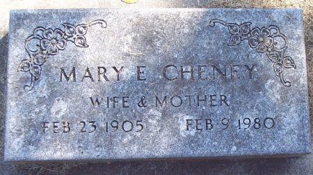 CHENEY, MARY E - Sac County, Iowa | MARY E CHENEY