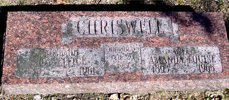 CHRISWELL, ROY  & AMANDA - Sac County, Iowa | ROY  & AMANDA CHRISWELL