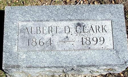 CLARK, ALBERT D. - Sac County, Iowa | ALBERT D. CLARK