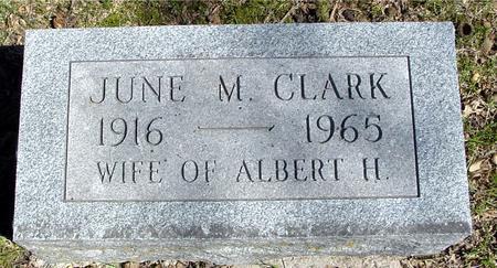 CLARK, JUNE M. - Sac County, Iowa   JUNE M. CLARK