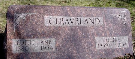 CLEAVELAND, JOHN C. & EDITH - Sac County, Iowa | JOHN C. & EDITH CLEAVELAND