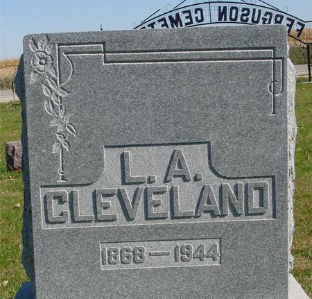 CLEVELAND, L. A. - Sac County, Iowa | L. A. CLEVELAND