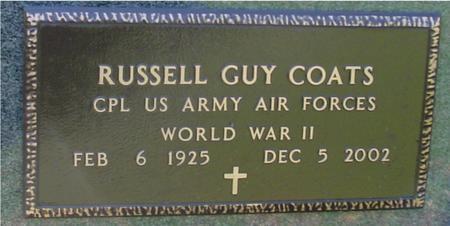 COATS, RUSSELL GUY - Sac County, Iowa | RUSSELL GUY COATS