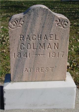 COLMAN, RACHAEL - Sac County, Iowa | RACHAEL COLMAN