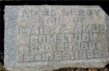 COMSTOCK, AMOS LEROY - Sac County, Iowa   AMOS LEROY COMSTOCK