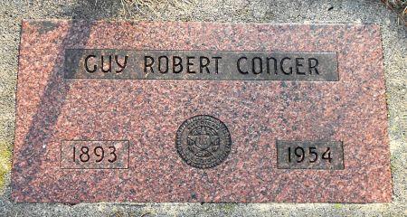 CONGER, GUY ROBERT - Sac County, Iowa   GUY ROBERT CONGER