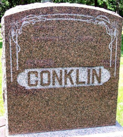 CONKLIN, FAMILY MEMORIAL - Sac County, Iowa   FAMILY MEMORIAL CONKLIN