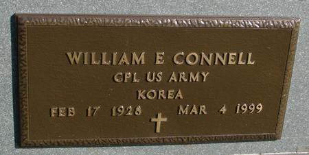 CONNELL, WILLIAM E. - Sac County, Iowa   WILLIAM E. CONNELL