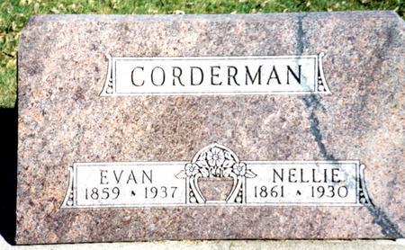 CORDERMAN, EVAN & NELLIE - Sac County, Iowa | EVAN & NELLIE CORDERMAN