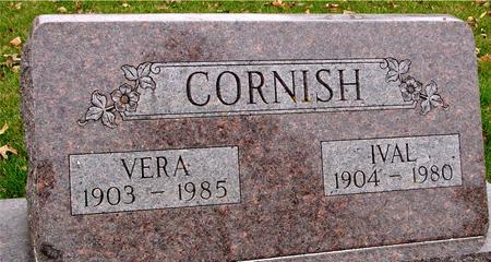 CORNISH, IVAL & VERA - Sac County, Iowa | IVAL & VERA CORNISH