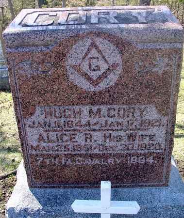 CORY, HUGH M. & ALICE R. - Sac County, Iowa   HUGH M. & ALICE R. CORY