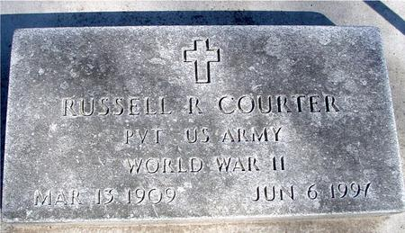 COURTER, RUSSELL R. - Sac County, Iowa | RUSSELL R. COURTER