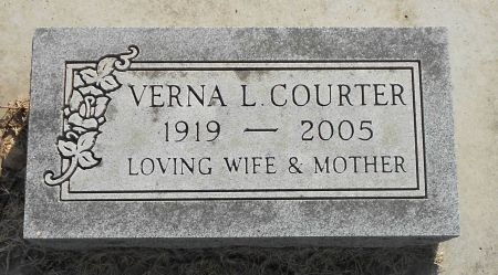 COURTER, VERNA LORIANE - Sac County, Iowa | VERNA LORIANE COURTER