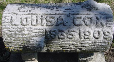 COX, LOUISA - Sac County, Iowa | LOUISA COX