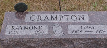 CRAMPTON, RAYMOND & OPAL - Sac County, Iowa   RAYMOND & OPAL CRAMPTON