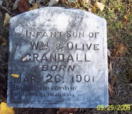 CRANDALL, INFANT - Sac County, Iowa | INFANT CRANDALL
