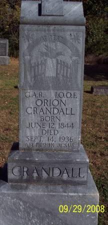 CRANDALL, ORION - Sac County, Iowa | ORION CRANDALL