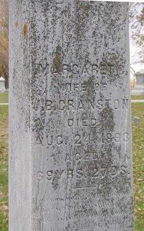 CRANSTON, MARGARET - Sac County, Iowa | MARGARET CRANSTON