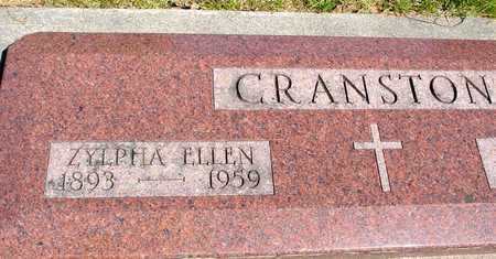 CRANSTON, ZYLPHA ELLEN - Sac County, Iowa | ZYLPHA ELLEN CRANSTON