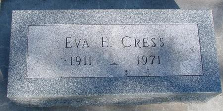 CRESS, EVA E. - Sac County, Iowa | EVA E. CRESS