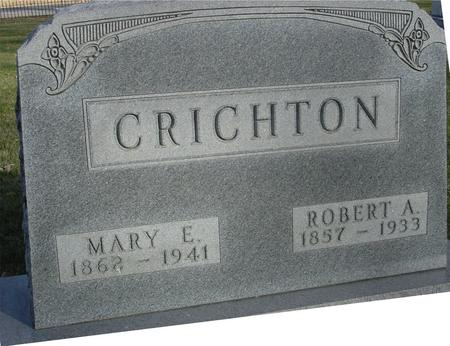 CRICHTON, ROBERT & MARY - Sac County, Iowa | ROBERT & MARY CRICHTON