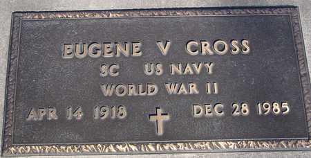 CROSS, EUGENE V. - Sac County, Iowa   EUGENE V. CROSS