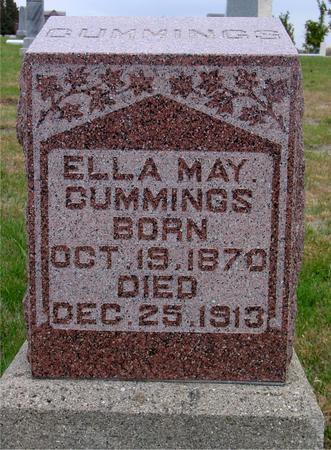 CUMMINGS, ELLA MAY - Sac County, Iowa   ELLA MAY CUMMINGS