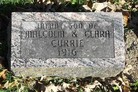 CURRIE, INFANT SON - Sac County, Iowa | INFANT SON CURRIE