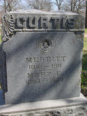 CURTIS, MERRITT & MARY E. - Sac County, Iowa | MERRITT & MARY E. CURTIS