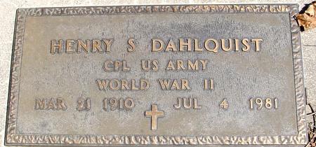 DAHLQUIST, HENRY S. - Sac County, Iowa | HENRY S. DAHLQUIST