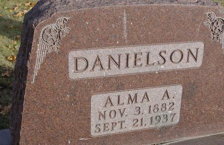 DANIELSON, ALMA A. - Sac County, Iowa | ALMA A. DANIELSON