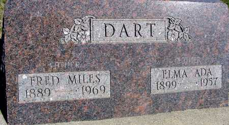 DART, FRED MILES & ELMA - Sac County, Iowa   FRED MILES & ELMA DART