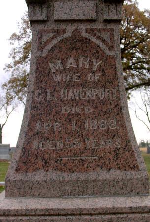 DAVENPORT, MARY & G. L. - Sac County, Iowa | MARY & G. L. DAVENPORT
