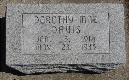 DAVIS, DOROTHY MAE - Sac County, Iowa | DOROTHY MAE DAVIS