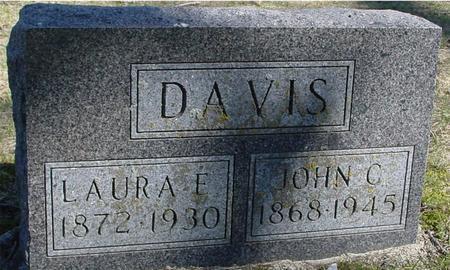 DAVIS, JOHN C. & LAURA F. - Sac County, Iowa | JOHN C. & LAURA F. DAVIS