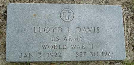 DAVIS, LLOYD L. - Sac County, Iowa | LLOYD L. DAVIS