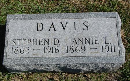 DAVIS, STEPHEN & ANNIE - Sac County, Iowa | STEPHEN & ANNIE DAVIS