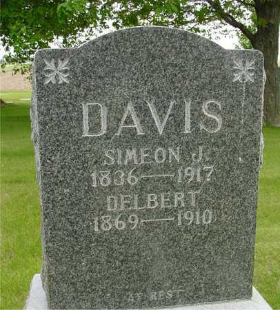 DAVIS, SIMEON J. & DELBERT - Sac County, Iowa   SIMEON J. & DELBERT DAVIS
