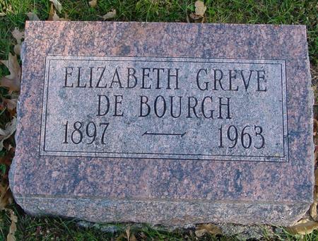 GREVE DE BOURGH, ELIZABETH - Sac County, Iowa | ELIZABETH GREVE DE BOURGH