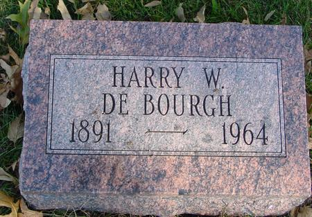 DE BOURGH, HARRY W. - Sac County, Iowa | HARRY W. DE BOURGH