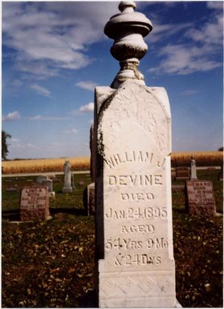 DEVINE, WILLIAM J. - Sac County, Iowa | WILLIAM J. DEVINE