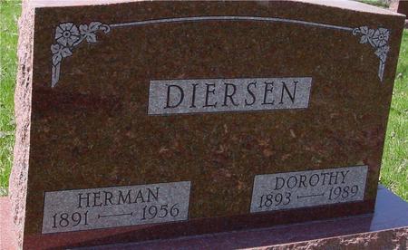 DIERSEN, HERMAN & DOROTHY - Sac County, Iowa | HERMAN & DOROTHY DIERSEN