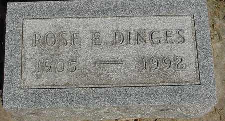DINGES, ROSE E. - Sac County, Iowa | ROSE E. DINGES