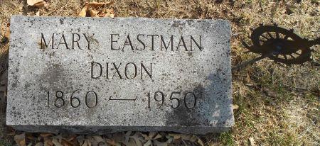 DIXON, MARY E - Sac County, Iowa   MARY E DIXON