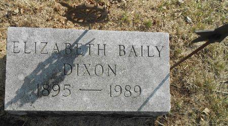 DIXON, SARAH ELIZABETH - Sac County, Iowa   SARAH ELIZABETH DIXON