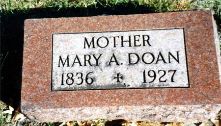 DOAN, MARY A. - Sac County, Iowa | MARY A. DOAN