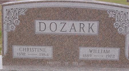 DOZARK, CHRISTINE & WILLIAM - Sac County, Iowa | CHRISTINE & WILLIAM DOZARK