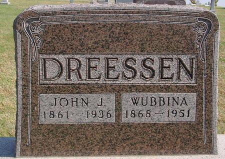 DREESSEN, JOHN & WUBBINA - Sac County, Iowa | JOHN & WUBBINA DREESSEN