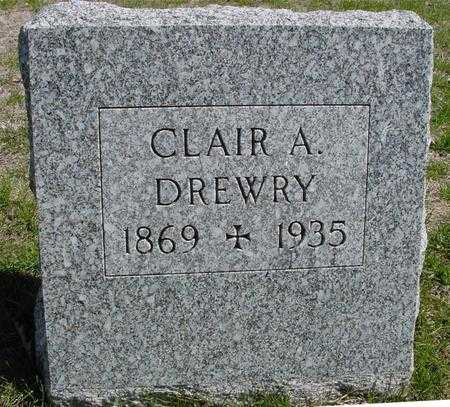 DREWRY, CLAIR A. - Sac County, Iowa   CLAIR A. DREWRY