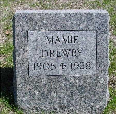 DREWRY, MAMIE - Sac County, Iowa   MAMIE DREWRY